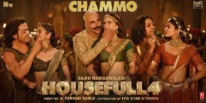 Chammo Lyrics - Housefull 4 | Akshay Kumar, Riteish Deshmukh, Bobby Deol, Kriti Sanon, Pooja Hegde, Kriti Kharbanda, Sohail Sen