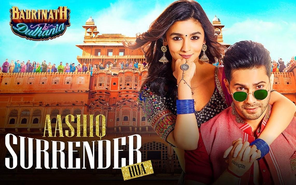 Aashiq Surrender Hua Lyrics - Badrinath Ki Dulhania | Varun Dhawan, Alia Bhatt, Amaal Mallik, Shreya Ghoshal