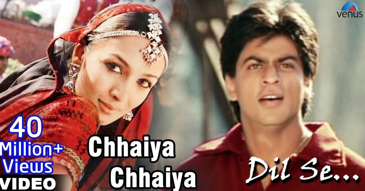 Chaiyya Chaiyya Lyrics - Dil Se | Sukhwinder Singh, Sapna Awasthi, Shahrukh Khan, Malaika Arora