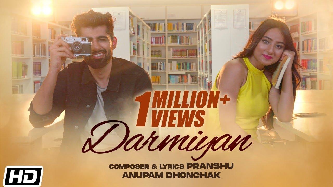 Darmiyan Lyrics - Anupam Dhonchak | Mridul Madhok, Anicka