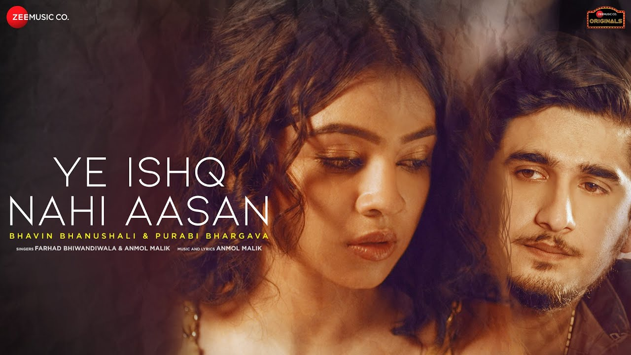 Ye Ishq Nahi Aasan Lyrics - Anmol Malik | Farhad Bhiwandiwala