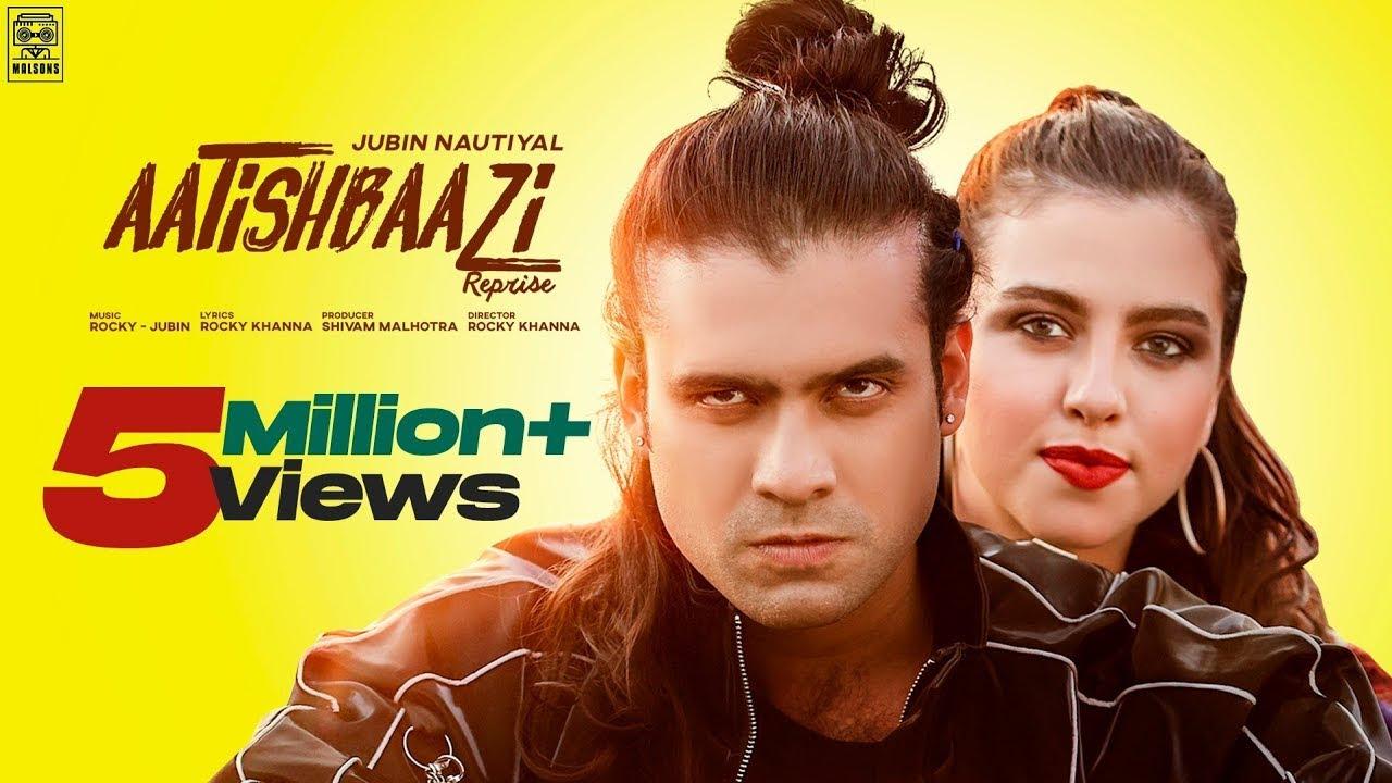 Aatishbaazi Reprise Lyrics - Jubin Nautiyal | Bruna Weide