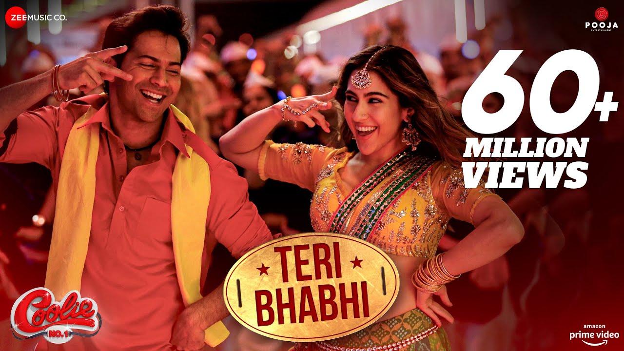 Teri Bhabhi Lyrics - Coolie No.1 | Javed-Mohsin, Dev Negi, Neha Kakkar, Varun Dhawan, Sara Ali Khan