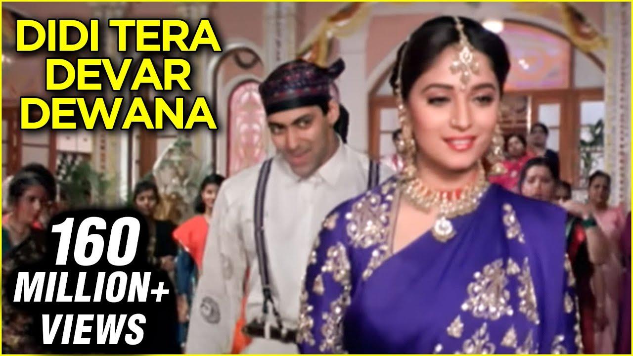 Didi Tera Devar Deewana Lyrics - S.P. Balasubramaniam | Lata Mangeshkar, Salman Khan, Madhuri Dixit