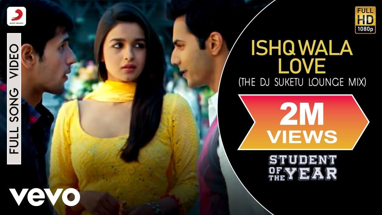 Ishq Wala Love Lyrics - Student of the Year | Salim Merchant, Neeti Mohan, Shekhar Ravjiani