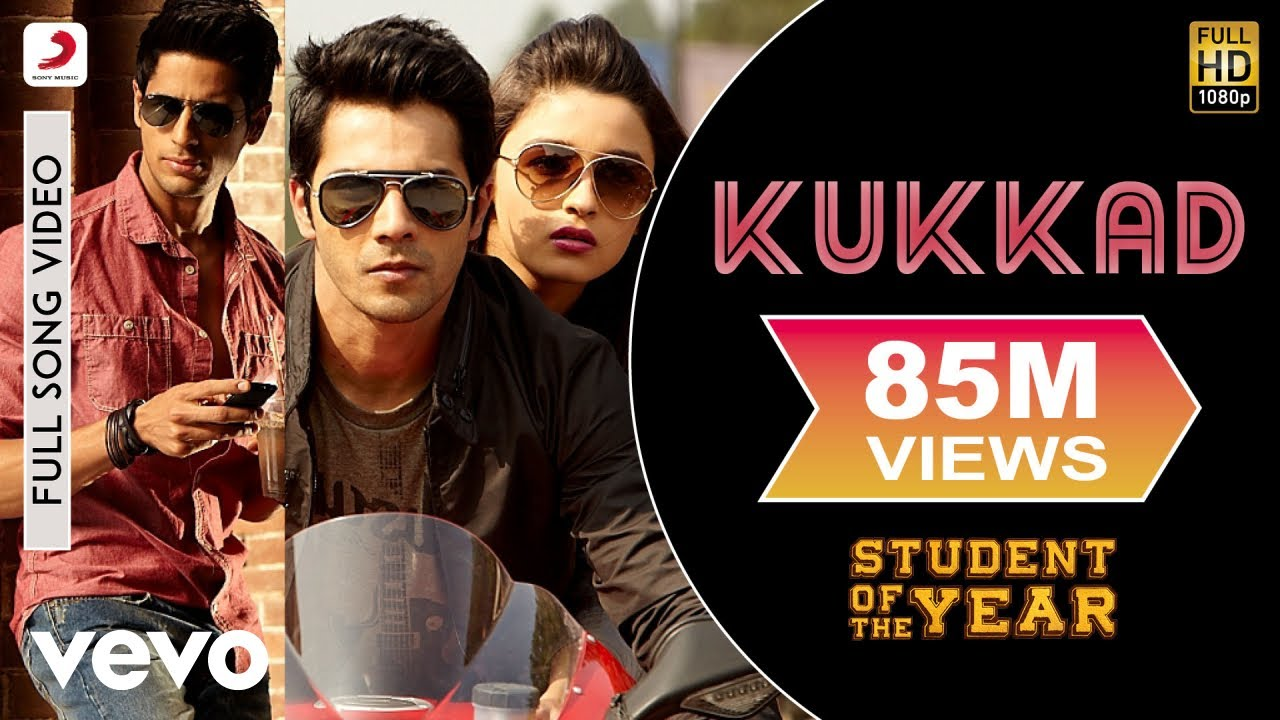 Kukkad Lyrics - Student of the Year | Shahid Mallya, Nisha Mascarenhas, Marianne