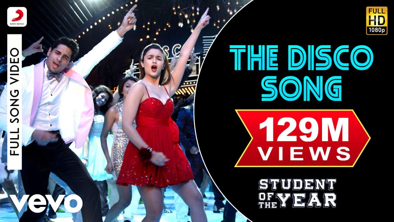 The Disco Song Lyrics - Student of the Year | Benny Dayal, Sunidhi Chauhan, Nazia Hassan