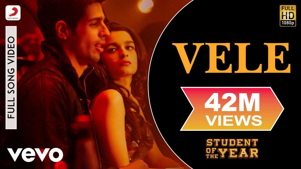 Vele Lyrics - Student of the Year | Shekhar Ravjiani, Vishal Dadlani