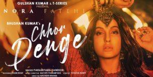 Chhor Denge Lyrics - Parampara Tandon | Nora Fatehi, Ehan Bhat