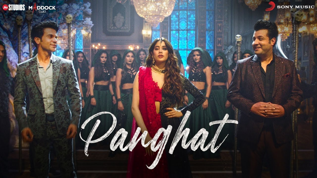 Panghat Lyrics - Roohi | Asees Kaur, Divya Kumar, Sachin-Jigar, Janhvi Kapoor, Rajkummar Rao