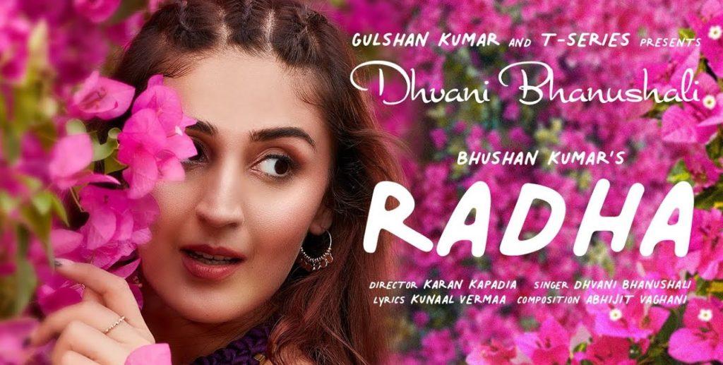 Radha Lyrics - Dhvani Bhanushali | Abhijit Vaghani