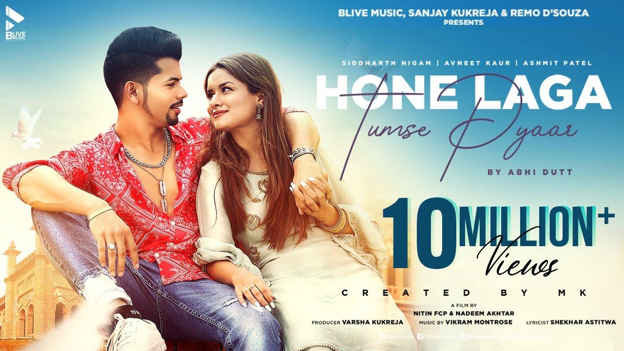 Hone Laga Tumse Pyaar Lyrics - Abhi Dutt | Siddharth Nigam, Avneet Kaur